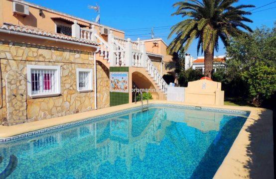 Beautiful villa in Dénia, located in las marinas area