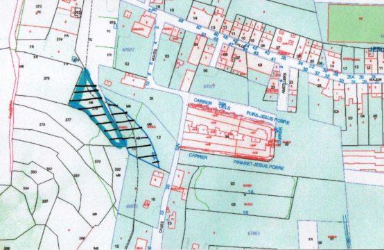 Two plots of land for sale in Jesús pobre (Denia)