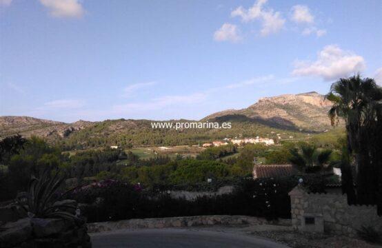 PRO1381<br>Terreno situada en la prestigiosa urbanización La Sella con Campo de Golf