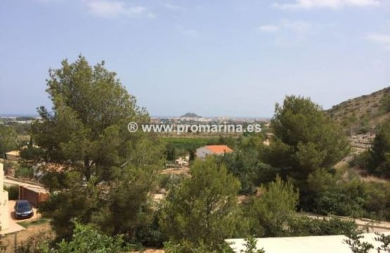 PRO403<br>Parcela en marquesa VI con vistas al mar y costa de Denia