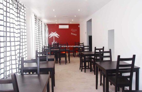 PRO1327<br>Vente restaurant &#8211&#x3B; bar et appartement récemment rénové à Denia