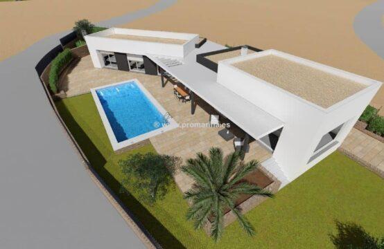 PRO1462<br>Magnífico proyecto en construcción de estilo moderno