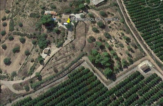 PRO1627<br>Rural property and villa with land in Lliria Valencia.Finca rustica
