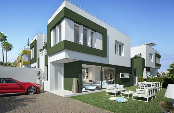 PRO1718C<br>Obra nueva en Denia. Promoción de viviendas unifamiliares.