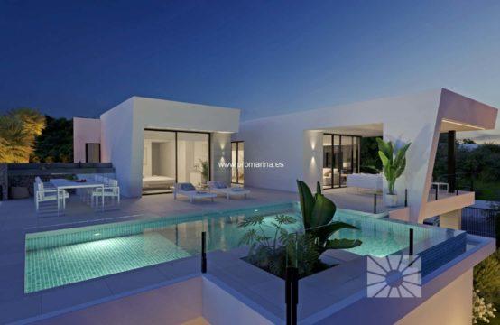 PRO2178<br>Modern new build villa in Cumbre del Sol