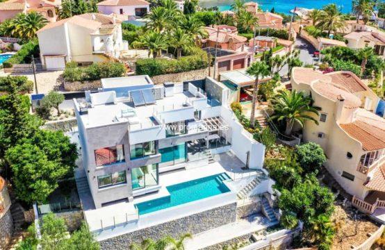 PRO2179<br>Villa de luxe avec vue spectaculaire à Calpe