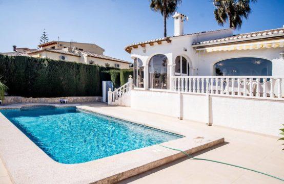 PRO2203C<br>Cozy Mediterranean style villa located in Calpe