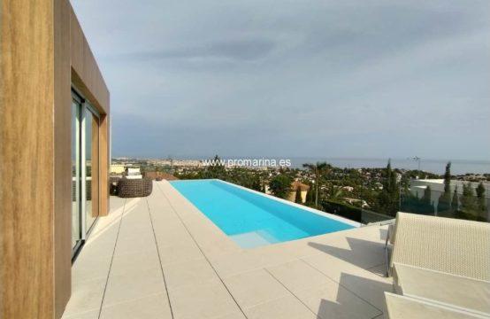 PRO2225A<br>Exclusiva villa de lujo con vistas panorámicas al mar