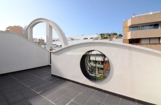 PRO2260CA<br>Moderno ático dúplex  en pleno centro de la ciudad