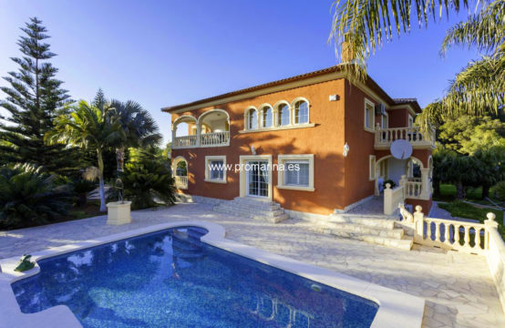 PRO2246<br>Espectacular mansión señorial con jardín mediterráneo