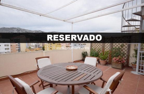 PRO2285C<br>RESERVADO &#8211; Ático con vistas al castillo en zona Miguel Hernández