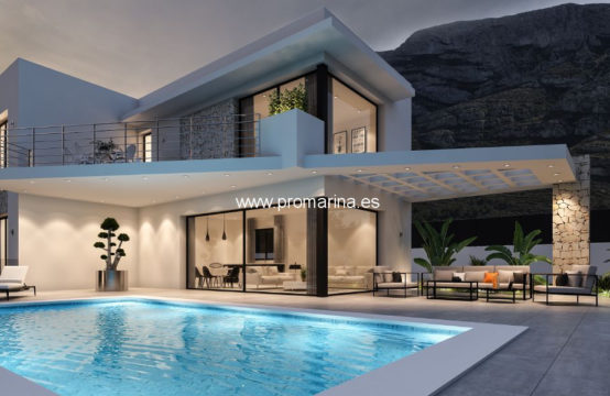 PRO2369<br>Newly built villa with excellent qualities available in Dénia